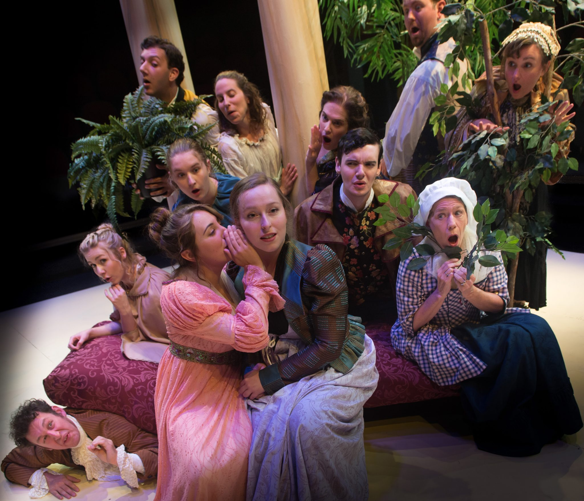 scene from Sense and Sensibility thr stage play